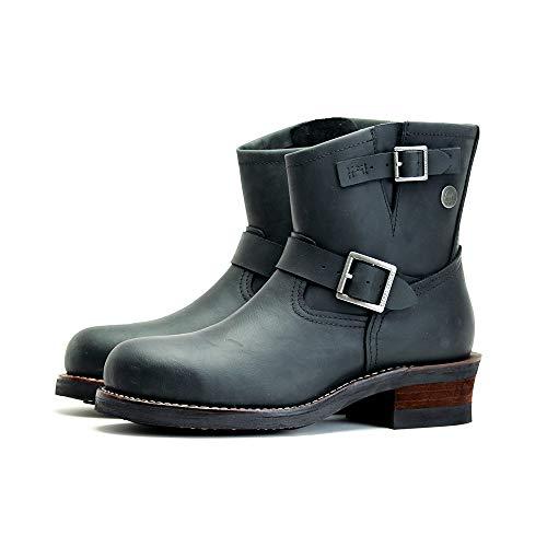 [シエラデザインズ] ブーツ エンジニアブーツ 本革 シューズ メンズ SD5001 (25.0, BLACK)