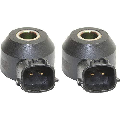 Knock Sensor Set of 2 compatible with 2002 Nissan Maxima