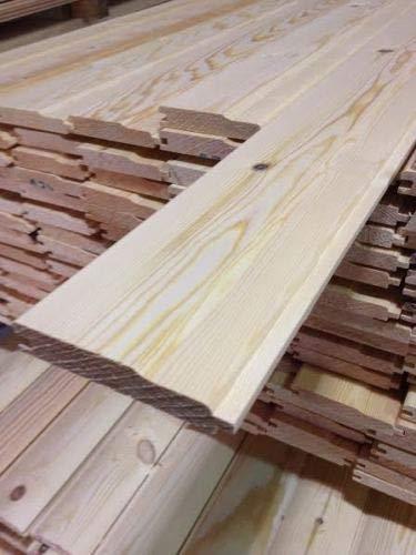 Pine Timber T&G Shiplap Cladding 110 X 20mm 2.4MTR X 5 Lengths