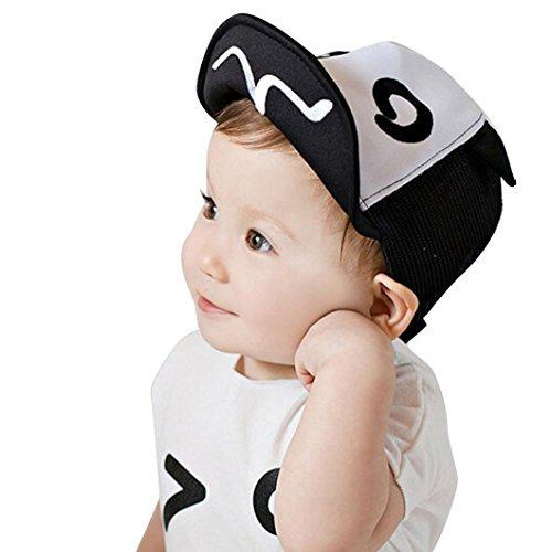 Dragon868 Gorras para bebé, Niños bebé Verano Malla Borde Flanger Gorras de béisbol