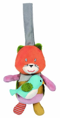 Latitude Enfant - 383510 - Peluche - Z'accroche - Chat