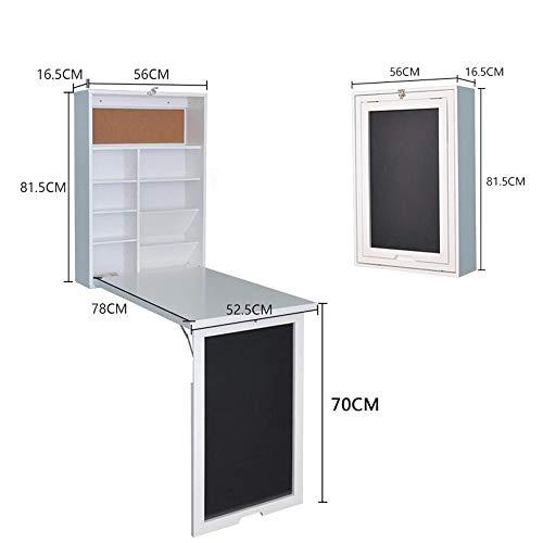 Home Beistelltische Wandklappbarer Computertisch Schreibtisch Esstisch Einfacher Esstisch Schreibtisch Kreatives Bücherregal, BOSS LV