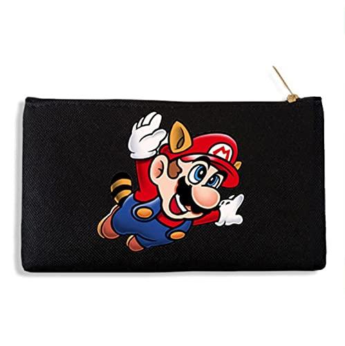 Sombrero Sonic Téléphone portable en toile Forever Super Mario Bros. avec étui à crayons et sac de rangement en toile pour porte-monnaie
