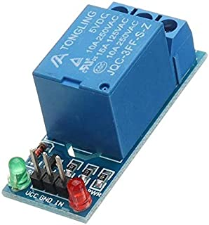 ILS – 5 piezas 5 V bajo nivel Trigger One 1 módulo relé manga tarjeta interfaz Shield DC AC 220 V