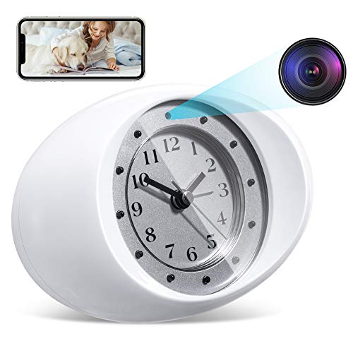Omples Hidden Camera Spy Camera Wireless Security Nanny Cam with 1080P Full HD, WiFi, Night Vision, Cell Phone App, No Sound Recording