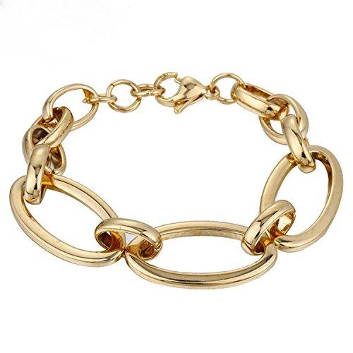 Diamond Empire Bracciale donna Trend 16mm Oro Placcato oro 18K oro giallo b2712