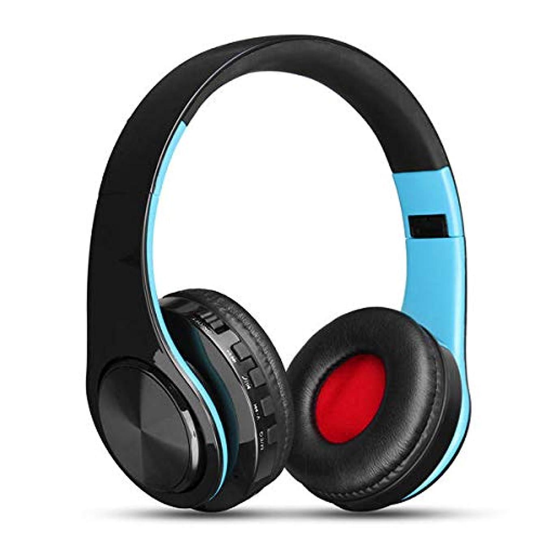 Portable Wireless Hifi Stereo Bluetooth Sports Headphone Headset - Tablet Accessories Tablet Speakers & Earphones - (Blue) - 1 X Spine model