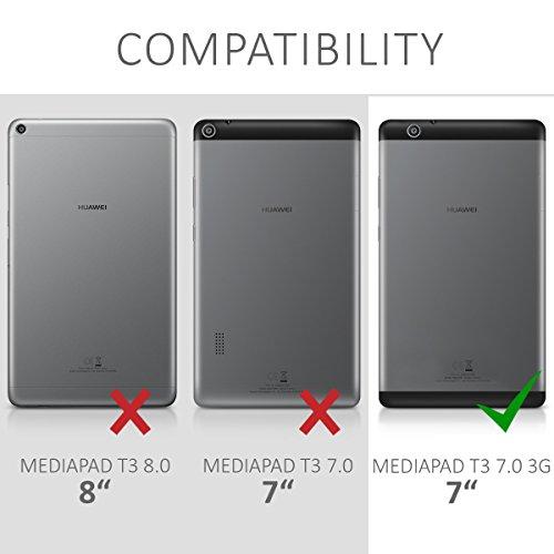 kwmobile Huawei MediaPad T3 7.0 3G Hülle - Silikon Tablet Cover Case Schutzhülle für Huawei MediaPad T3 7.0 3G - 5