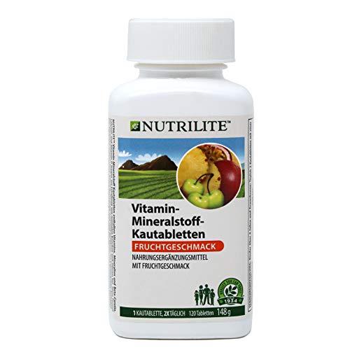 Vitamin-Mineralstoff-Kautabletten NUTRILITE™ - 120 Kautabletten / 148 g - Amway - (Art.-Nr.: 100930)