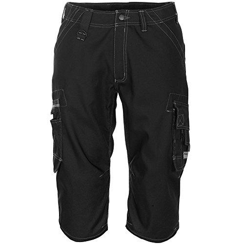 Mascot 09249-154-09-C44 driekwart broek Limnos frontline zwart recht been C50 zwart