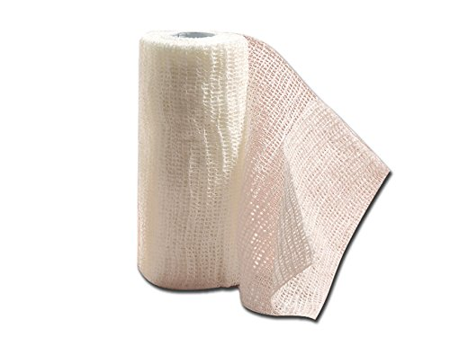 Previs - Previcoesiva, Kohäsive Elastische Binde, Größen 4 m x 6 cm, Packung mit 10 Stücken.