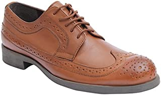SaltnPepper15-915 Old Monk Leather Almond Men LACE UP Shoes