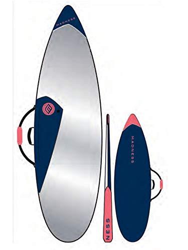 Madness Funda Tabla Pe 6.0 Shortboard Azul Rojo