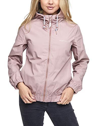mazine - Damen - Jacke 'Library Light Jacket' - Classic Streetwear Frühling Sommer - Woodrose - L