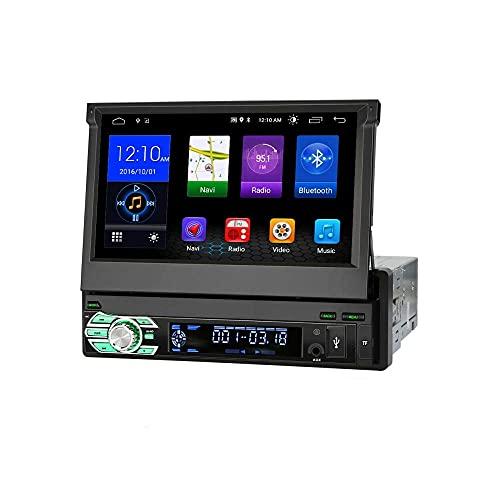 Taffio 1 din 7' Pantalla Táctil Android Navegación Autoradio 3D GPS USB Bluetooth Wifi