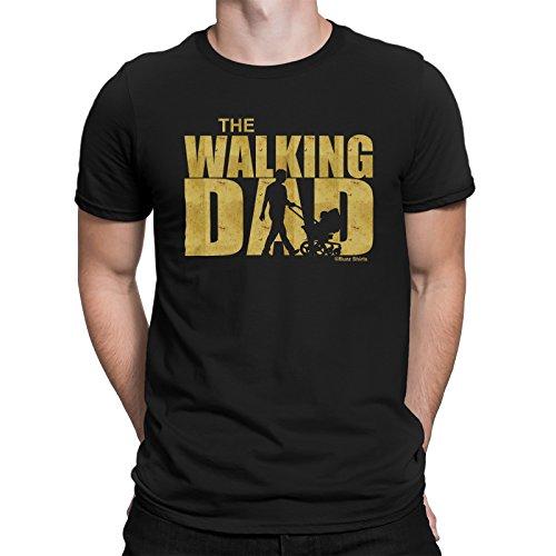 buzz shirts Regalo para Los Padres - The Walking Dad - Camiseta para Hombre
