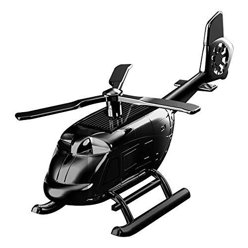 Mabor Ambientador para coche, aromaterapia, helicóptero, decoración de aviones, regalo solar, perfume para coche, avión, decoración
