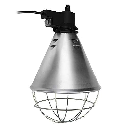 Zay Luay Luces AC240V 250W E27 Cubierta de lámpara de la incubadora de Calor de Aves de Corral para Cachorros de Pollitos (Color : A)