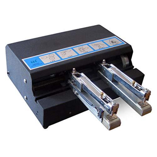 CGOLDENWALL Grapadora eléctrica automática A4 Máquina de encuadernación de papel Heavy Duty...