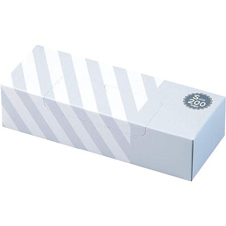 驚異の防臭袋 BOS (ボス) ストライプパッケージ /白色Sサイズ200枚入 赤ちゃん用 おむつ ペット うんち 生ゴミ などの処理に