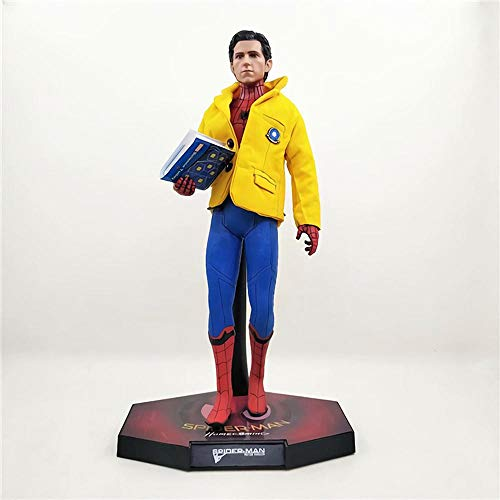 Marvel Helden Series Avengers 06.01 Spider-Man Yellow Jacket Cloth Handgemachte Modell Boxed Spider-Man Jacke Jacken-Tuch