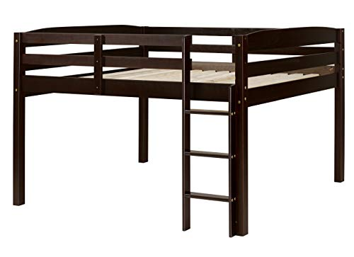 Concord Junior Loft Bed, Full, Cappuccino