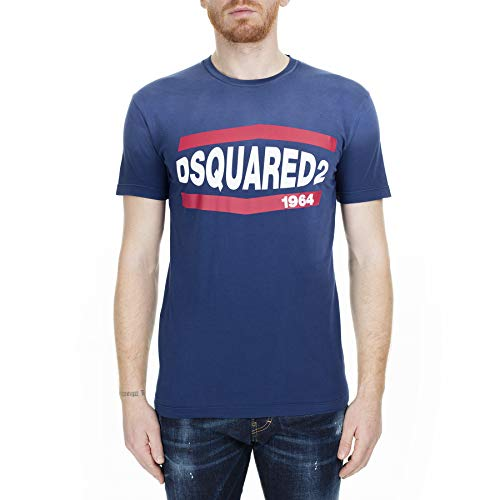 T-shirt Dsquared in Cotone -  - Large
