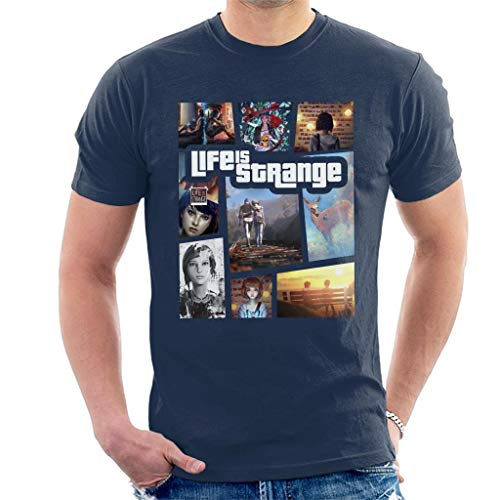 Life is Strange Montage Art Men's T-Shirt