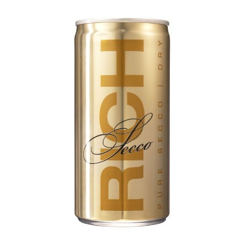 Rich Secco Frizzante in Dosen (12 × 200ml) 12,5% Vol.