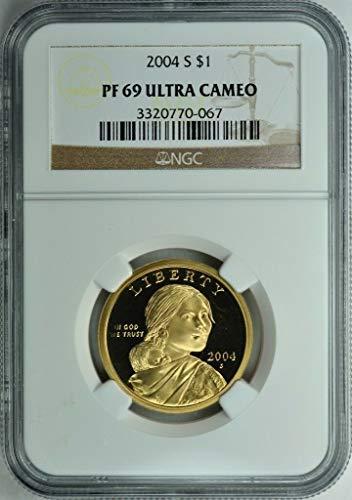 2004 S Native American Sacagawea Proof Dollar – Beautiful Coin – Professionally Graded – PR 69 Ultra Cameo – NGC