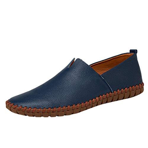 Fantastic Deal! Goddessvan 2019 Men's Plus Size Business Leather Shoes Non-Slip Comfortable Casual D...