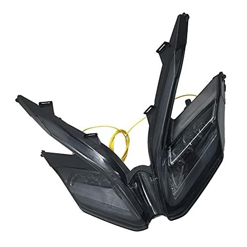 MagiDeal Piezas de Repuesto de Luz Trasera LED para Motocicleta para Modelos DUCATI 899959 - Humo negro