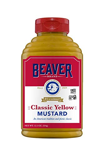 Beaver American Classic Yellow 25% OFF Mustard Squeeze Ounce 12.5 Bottl New item