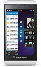 BlackBerry Z10 (Latest Model) 16GB White Factory Unlocked GSM Touch Smartphone