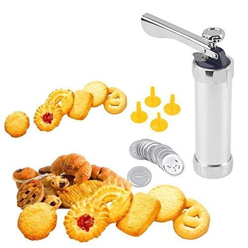 SHREEJIIH Cookie Press Machine Biscuit Maker Cake Making Decorating Gun Kitchen Baking Pastry Tools Set