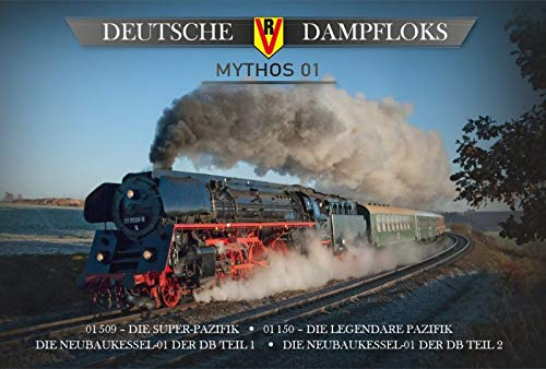 Deutsche Dampfloks - Mythos 01 - 4er-DVD-Box - Filmedition XXL