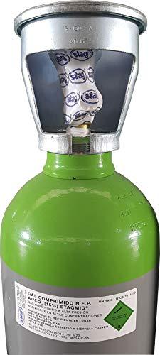 Botella 20 Litros con gas CO2 y ARGON 15% CO2 STAGMIG