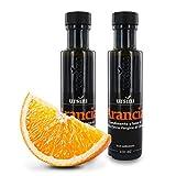Ursini Aceite de Oliva Virgen Extra aromatizado con Naranja - 100 ml (Paquete de 2 Piezas)