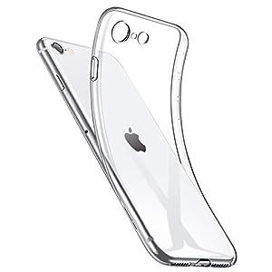 """NIMASO ケース iPhone SE 第2世代 iPhone8 iPhone7 用 軽量 ケース ソフト クリア TPU カバー ベーシック ..."""""""