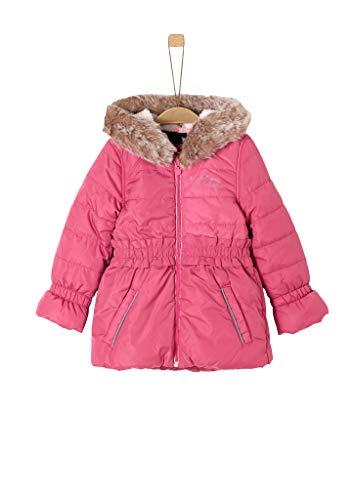 s.Oliver Mädchen 58.909.52.6960 Mantel, Rosa (Pink 4543), (Herstellergröße: 110)