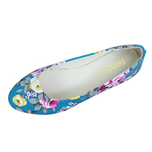 Chinesische Bestickte Schuhe Elegant Mary Jane Halbschuhe Sommer Sandalen Ballerina Espadrilles Flats Damen,Grün,EU 42