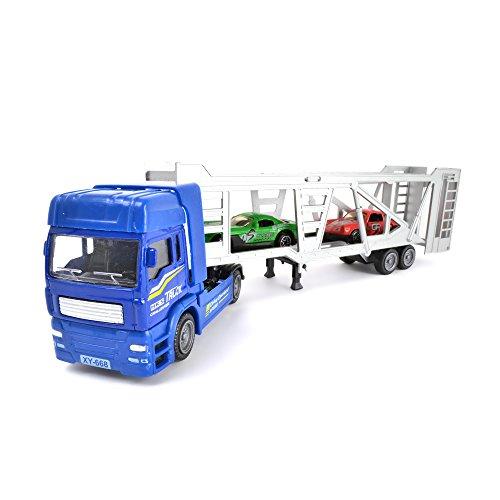 Wonderkids - 89712 - Camion de Transport avec 2 Autos - Modèle Aléatoire