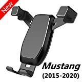 AYADA Phone Holder for Ford Mustang, Mustang Phone Holder Mustang Phone Mount Upgrade Design Gravity Auto Lock Stable Without Jitter Easy to Install Mustang Accessories GT,2015 2016 2017 2018