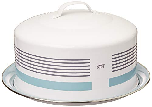 Jamie Oliver Baking Cake Tin with Cover Lid and Handle, Round,...