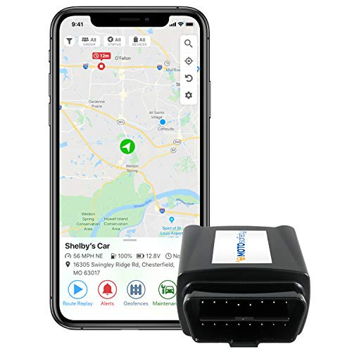 GPS Tracker for Vehicles - MOTOsafety
