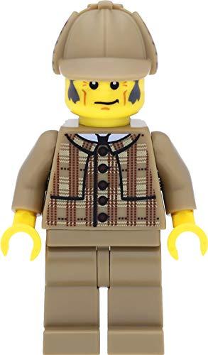 LEGO 8805 Minifigur Detektiv / Detective aus der Sammelfiguren Serie 5 mit Lupe
