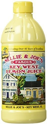 Nellie & Joes, Juice Key West Lemon, 16 FO (Pack of 12) ( Value Bulk Multi-pack)