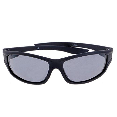 LANCHEN Gafas de Sol polarizadas para Hombre Gafas de conducción de Ciclismo Gafas Deportivas de Pesca al Aire Libre