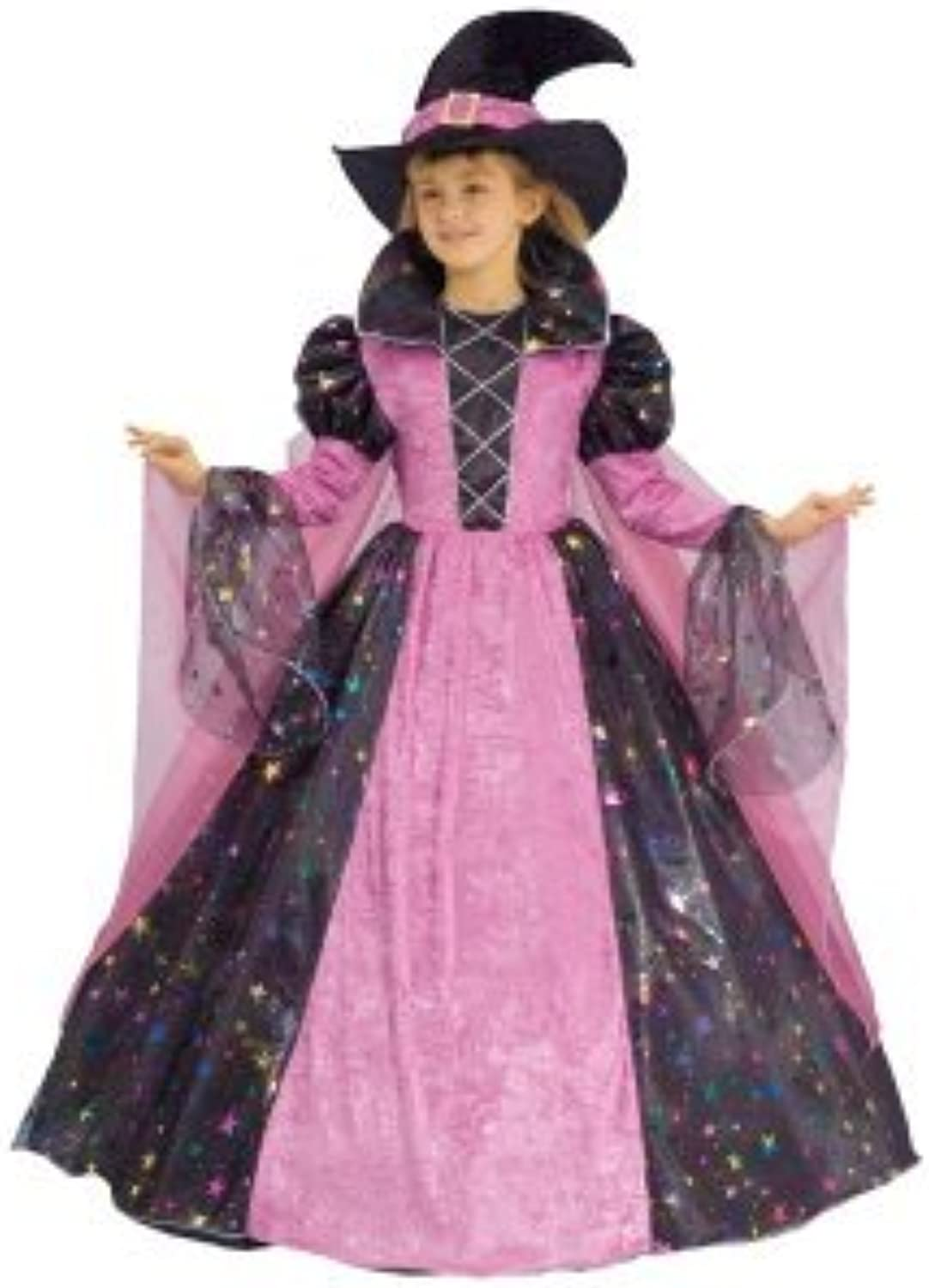 Dress up America Toddler T2 Deluxe Witch Costume Set by Dress Up America