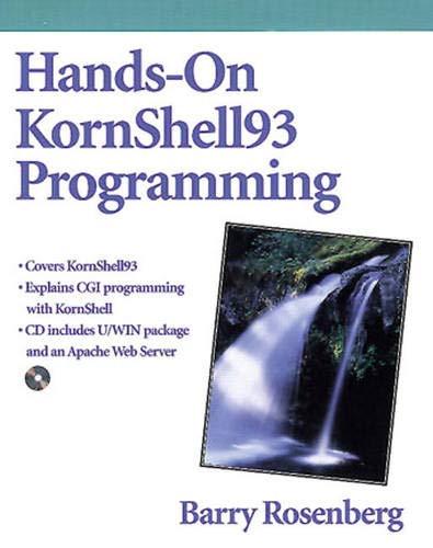 HANDS-ON KORNSHELL93 PROGRAMMI
